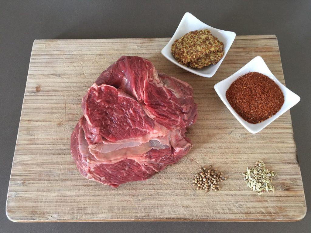 Pulled Beef Ingredienten   BBQuality