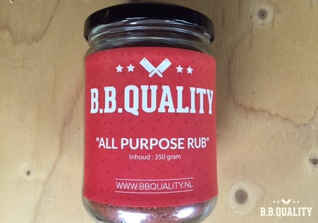 BBQuality All Purpose Rub - BBQuality