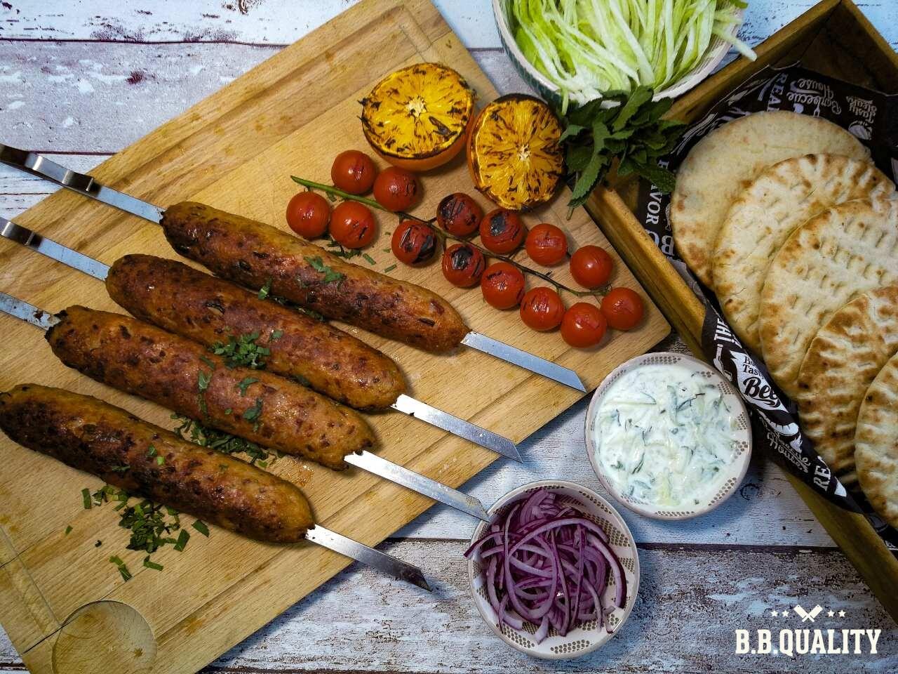 Kip kebab spies kipgehakt recept | BBQuality