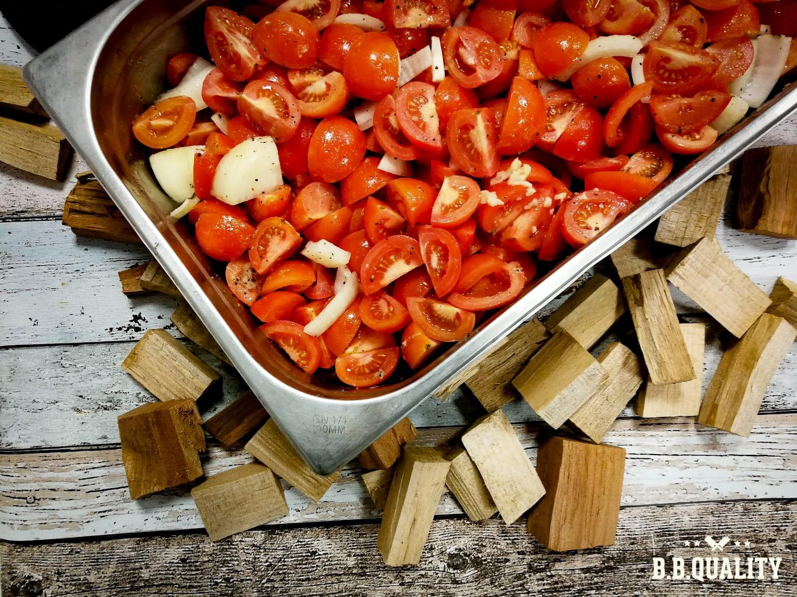 Tomaten-paprikasoep met pulled chicken | BBQuality