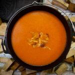 Tomaten-paprikasoep met pulled chicken  |   heerlijk vers | Online Slager | BBQuality