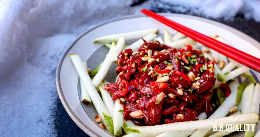 Koreaans steak tartaar recept | BBQuality